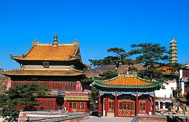 Xumifoshou Zhi Miao (Temple of Happiness and Longevity), Chendge, Hebei province, China
