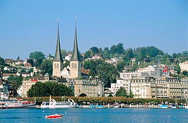 Hofkirche, Vierwaldstattersee, Luzern, Switzerland