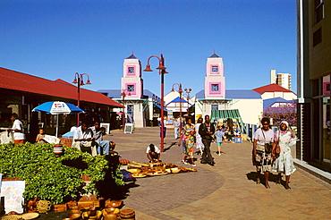 Post Street Mall, Windhoek, Namibia.