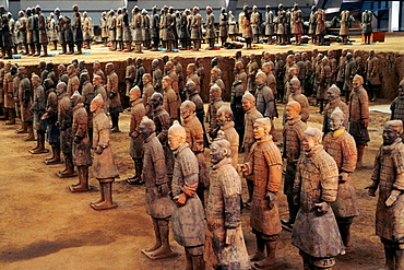 Army of Terracotta Warriors, Xian, Shaanxi province, China.