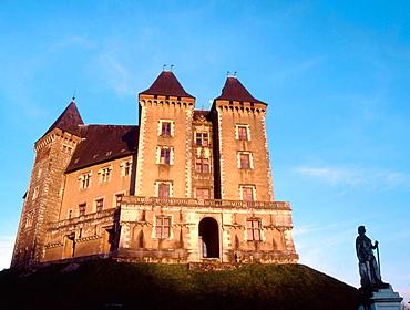 France, Pyrenees, Pau, Chateau