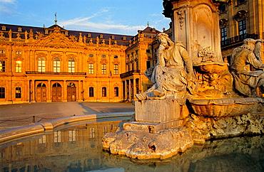 Wurzburg Residenz, Bavaria, Germany