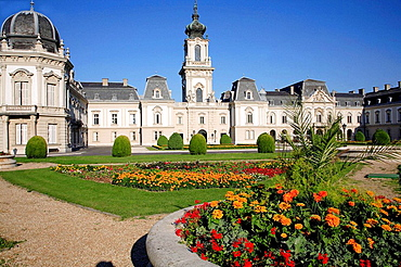 Festetics Palace, Keszthely, Hungary.