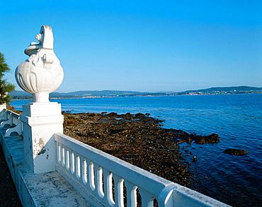 La Toja island, Ria de Arosa, Pontevedra province, Galicia, Spain