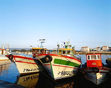 O Grove fishing port, Rias Baixas, Pontevedra province, Spain
