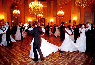 Schottencollege ball, Auersberg Palace, Vienna, Austria