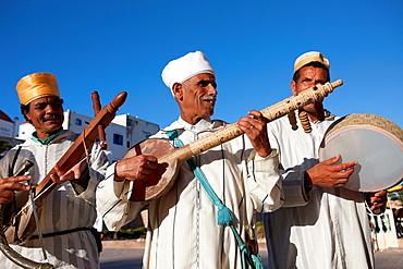Street Musicians in Essaouira, Morocco