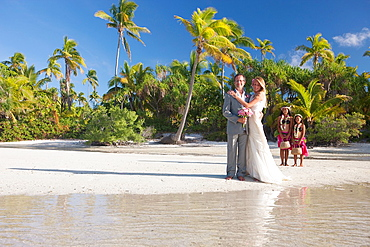 Wedding, Aitutaki in The Cook Islands