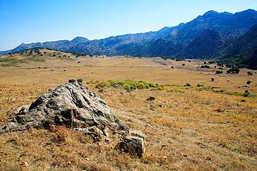 Landscape in the Republican Plains, Natural Park Sierra de Grazalema, Cadiz
