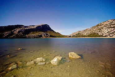 Puig Sa Rateta, 1113 meters, Enbalse Cuber, Soller Sierra de Tramuntana in Majorca, Balearic Islands Spain
