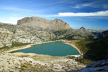 Puig Major, 1436 meters, Soller, enbalse Cuber, Sierra de Tramuntana, Mallorca, Balearic Islands, Spain