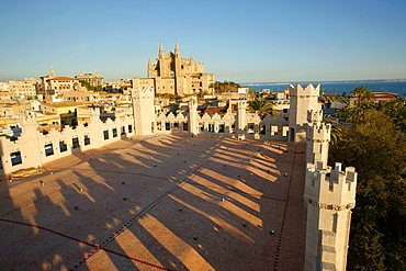 La Seu, Cathedral of Majorca, from the auction, The Llotja, XV Century, Palma Mallorca Balearic Islands Spain
