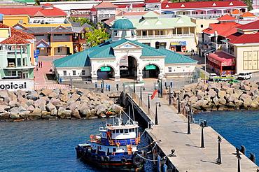 Basseterre St Kitts Caribbean Cruise NCL Island Port Dock Entry