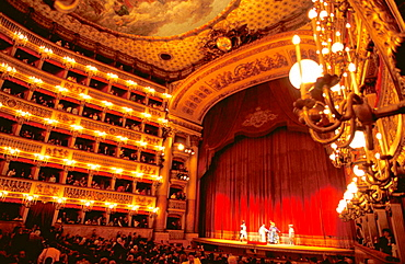 Saint Charles Theater (Teatro di San Carlo), Naples, Italy