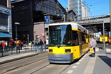 Tram in Berlin-Friedrichstrasse