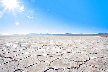 Saltpan of Salinas Grandes in Jujuy province, North Argentina, South America