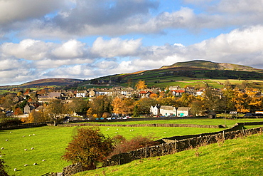 Reeth and Calver Hill Swaledale North Yorkshire England