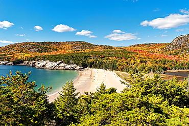 Sand Beach, Acadia NP, Maine, ME, USA