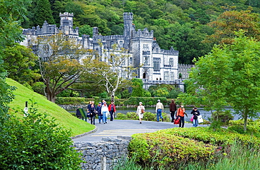 Kylemore Abbey County Galwey Republic of Ireland