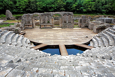 Ruins of roman city, Butrint, district Saranda, Albania