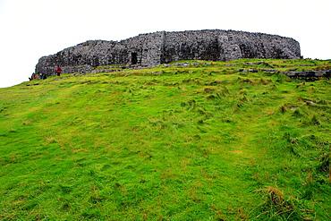 Dun Aengus Dun Aonghasa fort 2-3 century BC, Aran islands, Galway county, Ireland