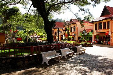 Oriental village, Langkawi island, Kedah state, Malaysia.