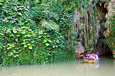 Cueva del Indio, Indian Cave, Vinales, Pinar del Rio Province, Cuba, Central America, Unesco World Heritage Site Cueva del Indio