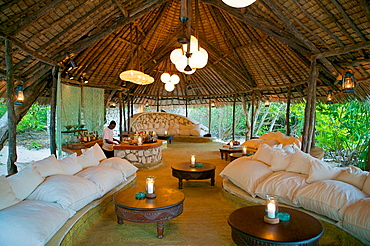 Bar, Mnemba Lodge, Zanzibar