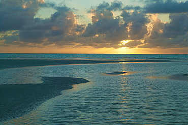 Sunset, Mnemba Island, Zanzibar
