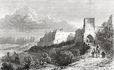 Bethlehem, Palestine in the 19th century From El Mundo en la Mano published 1875