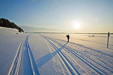 cross country skiing Finland