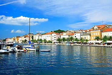 Marina in Mali Losinj on Cres Island, Croatia