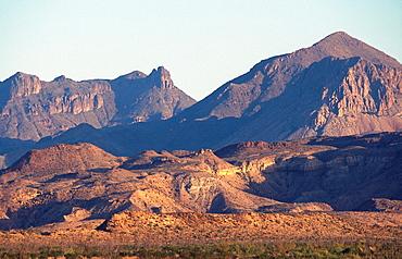 Chisos mountains, Big Bend National Park, Texas, Usa