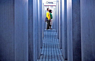 Holocaust Mahnmal,or Memorial to the Murdered Jews of Europe Berlin Germany