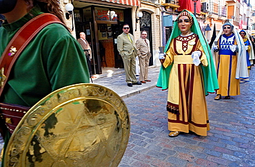 Figuras Holy Week Easter Sunday Puente Genil Cordoba province Spain