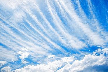 Cirrrostratus cloud formation