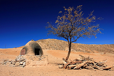 An oven made of adobe brick in Calchaqui valley, Salta province, north of Cafayate, Argentina