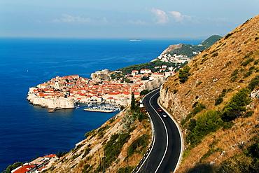 Dubrovnik, one of the most popular tourist destinations on the Adriatic, Croatia, UNESCO