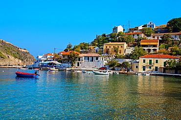 Village of Assos, Kefalonia, Greece