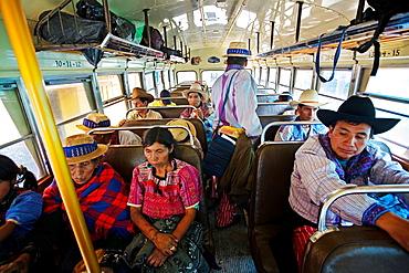 Bus, Todos Santos Cuchumatan Guatemala