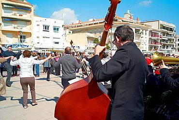 Sardanas Dance, Catalonia, Spain.