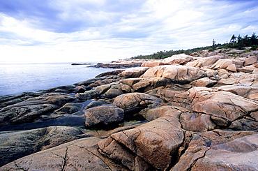 Cap de Bon-Desir, Parc National de Saguenay-St Lawrence, Quebec, Canada