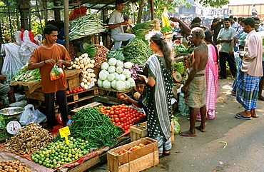 Sri Lanka, Colombo, Pettah, market, people,