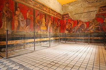 Pompeii Italy Frescos in the Villa dei Misteri / Villa of the Mysteries