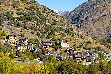 Lladros, Vall de Cardos, Parque Natural del Alto Pirineo, Lleida province, Catalonia, Spain