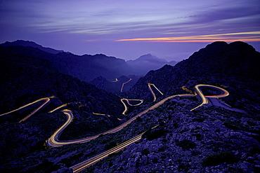 Sa Calobra Escorca Sierra de Tramuntana Majorca Balearic Islands Spain