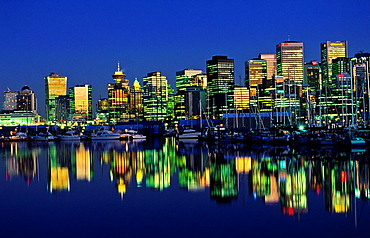 Skyline Vancouver Brittish Columbia Canada