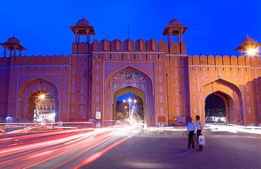 Ajmeri Gate Jaipur Rajasthan, India