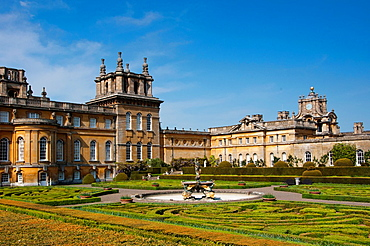Blenheim Palace with Italian Garden, England