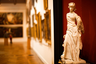 France, Midi-Pyrenees Region, Haute-Garonne Department, Toulouse, Musee des Augustins museum, gallery interior